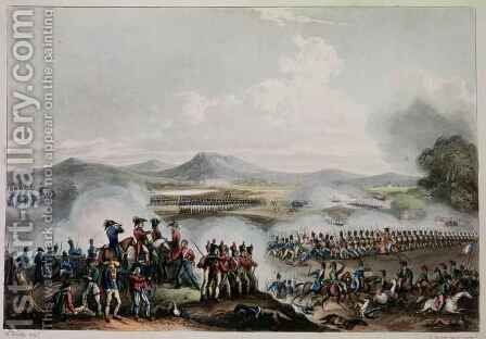 Battle of Talavera by (after) Heath, William - Reproduction Oil Painting