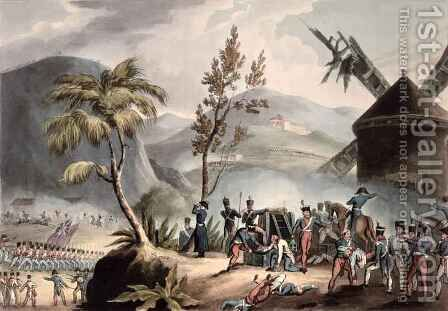 Battle of Roleia by (after) Heath, William - Reproduction Oil Painting