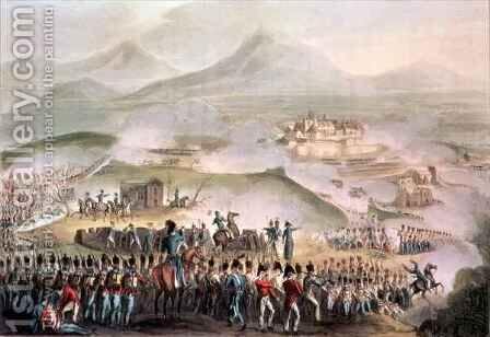 Battle of Toulouse by (after) Heath, William - Reproduction Oil Painting