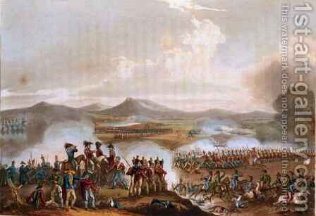 Battle of Talavera 2 by (after) Heath, William - Reproduction Oil Painting
