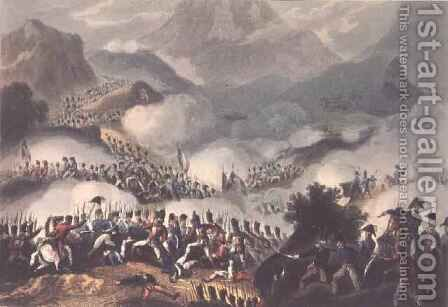 Battle of the Pyrenees 2 by (after) Heath, William - Reproduction Oil Painting