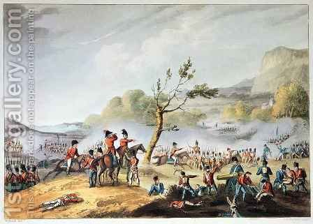 Battle of Maida 2 by (after) Heath, William - Reproduction Oil Painting