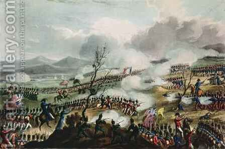 Battle of Nivelle by (after) Heath, William - Reproduction Oil Painting