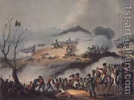 Battle of Orthes by (after) Heath, William - Reproduction Oil Painting