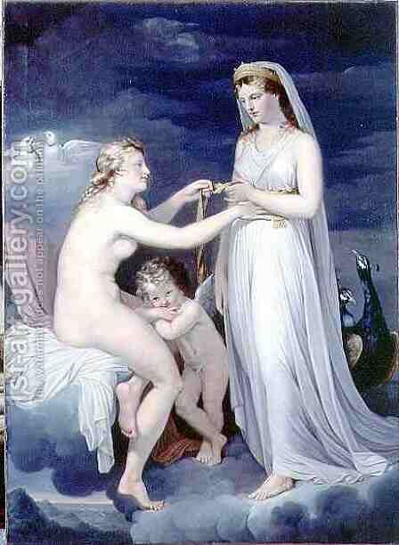 Juno Borrowing the Girdle of Venus by Guy Head - Reproduction Oil Painting