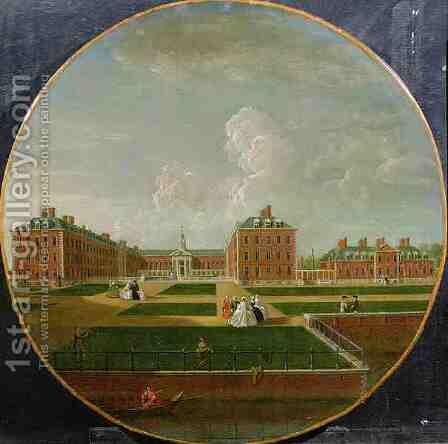 Chelsea Hospital by Edward Haytley - Reproduction Oil Painting