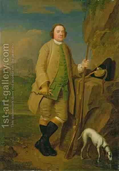 A Sportsman by Edward Haytley - Reproduction Oil Painting