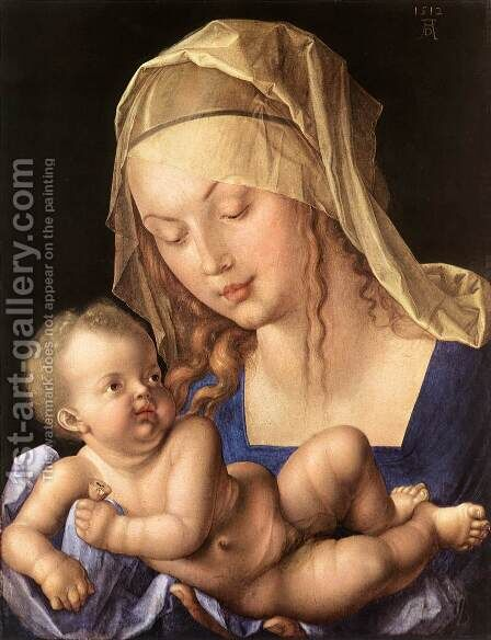 Madonna of the Pear 2 by Albrecht Durer - Reproduction Oil Painting