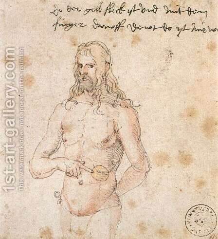 Self-Portrait 2 by Albrecht Durer - Reproduction Oil Painting