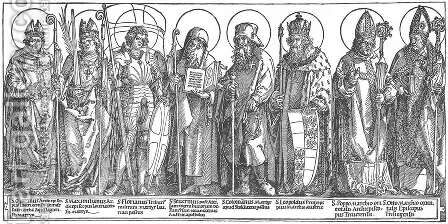 The Austrian Saints by Albrecht Durer - Reproduction Oil Painting