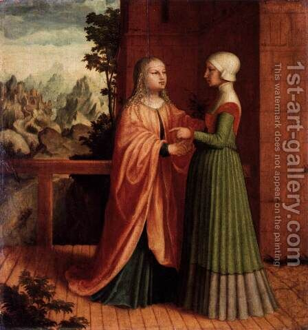 The Visitation 2 by - Unknown Painter - Reproduction Oil Painting