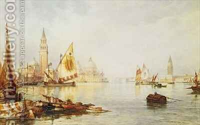 View of Venice by C.B. Hardy - Reproduction Oil Painting