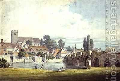 Aylesford by James Duffield Harding - Reproduction Oil Painting
