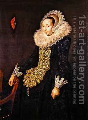 Catarina Both van der Eem by (after) Hals, Frans - Reproduction Oil Painting