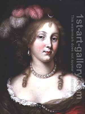 Portrait of a Lady as Diana by Jan van Haensbergen - Reproduction Oil Painting