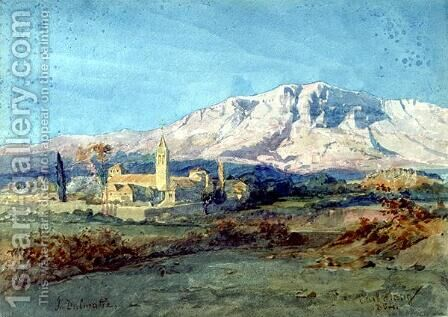 In Dalmatia by Carl Haag - Reproduction Oil Painting