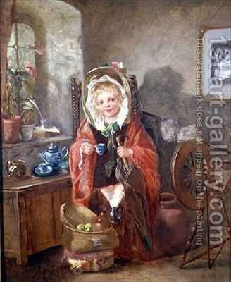 Tea Time by Catherine Grey - Reproduction Oil Painting