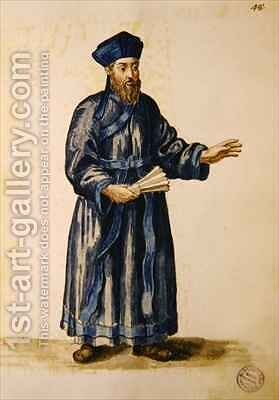 Venetian missionary in China by Jan van Grevenbroeck - Reproduction Oil Painting