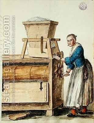 Bolting flour by Jan van Grevenbroeck - Reproduction Oil Painting