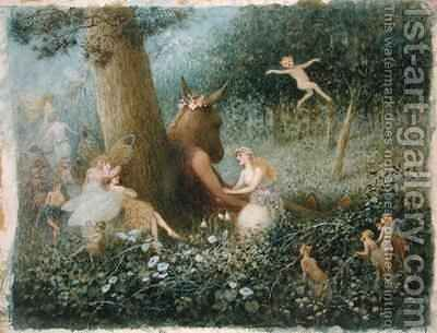 A Midsummer Nights Dream by Henry Towneley Green - Reproduction Oil Painting