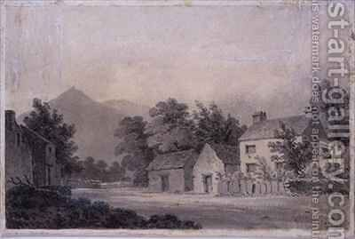 Dove Cottage Grasmere by Amos Green - Reproduction Oil Painting
