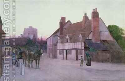 Twilight Cookham by Carleton Grant - Reproduction Oil Painting