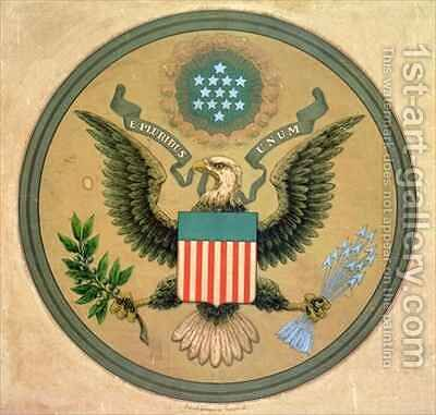 Great Seal of the United States by Andrew B. Graham - Reproduction Oil Painting