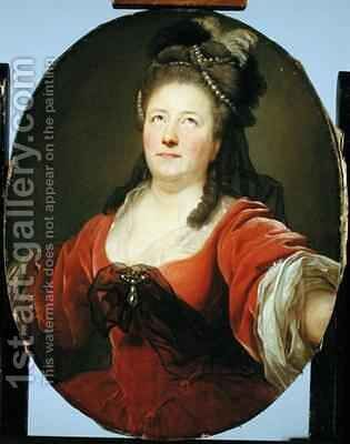 Portrait of the Actress Friederike Seyler 1738-89 by Anton Graff - Reproduction Oil Painting