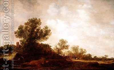 Rural Landscape by Jan van Goyen - Reproduction Oil Painting