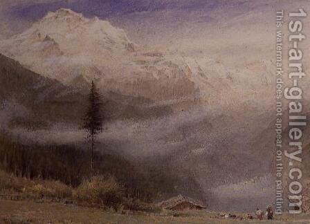 Jungfrau by Albert Goodwin - Reproduction Oil Painting