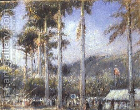 Grenada West Indies by Albert Goodwin - Reproduction Oil Painting