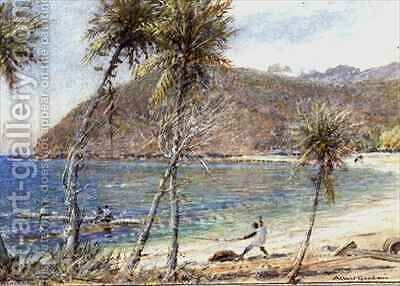 Trinidad by Albert Goodwin - Reproduction Oil Painting