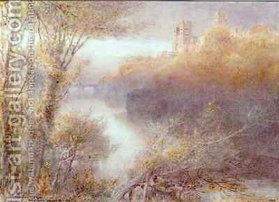 Durham by Albert Goodwin - Reproduction Oil Painting