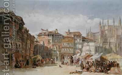 Segovia Spain by Edward Angelo Goodall - Reproduction Oil Painting