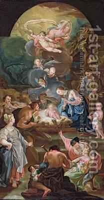Adoration of the Shepherds by Antonio the Elder Gonzalez Velazquez - Reproduction Oil Painting