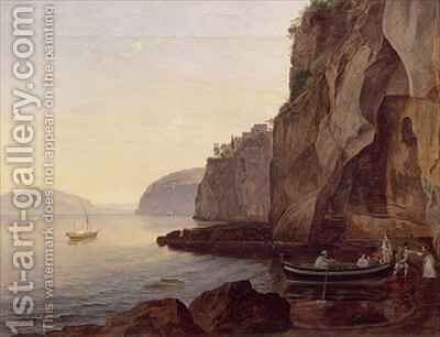 Cocumella near Sorrento by Carl Wilhelm Goetzloff - Reproduction Oil Painting