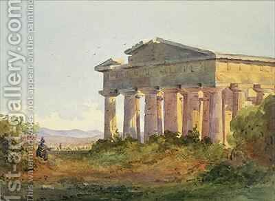 Landscape at Paestum by Arthur Glennie - Reproduction Oil Painting