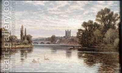 Henley on Thames by Alfred I Glendening - Reproduction Oil Painting