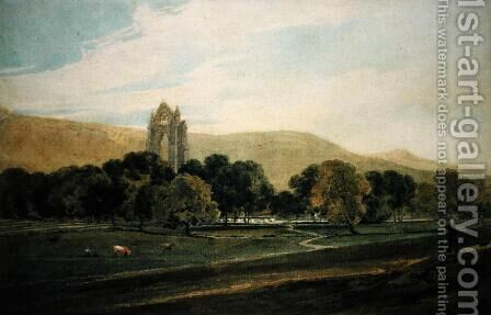 Guisborough Priory by (after) Girtin, Thomas - Reproduction Oil Painting