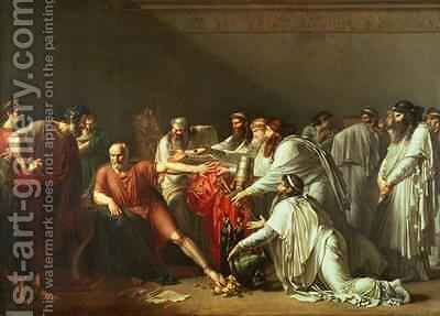 Hippocrates Refusing the Gifts of Artaxerxes I by Anne-Louis Girodet de Roucy-Triosson - Reproduction Oil Painting