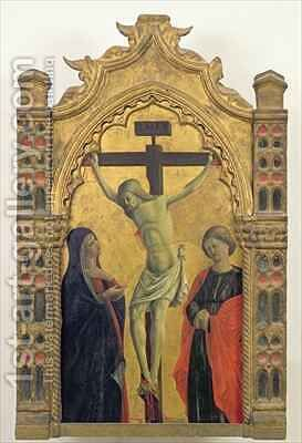 Crucifixion by Girolamo Giovanni - Reproduction Oil Painting