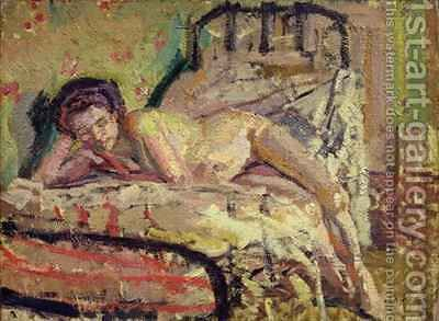 The Model by Harold Gilman - Reproduction Oil Painting