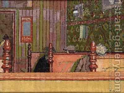 Eating House by Harold Gilman - Reproduction Oil Painting