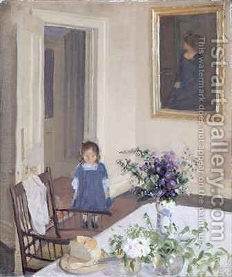 Interior 2 by Harold Gilman - Reproduction Oil Painting