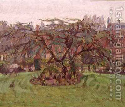 Clarence Gardens NW1 by Harold Gilman - Reproduction Oil Painting