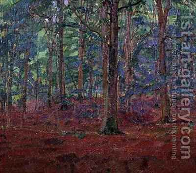 A Beech Wood by Harold Gilman - Reproduction Oil Painting