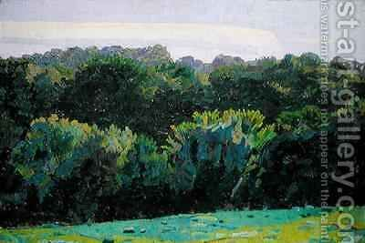 Landscape Somerset by Harold Gilman - Reproduction Oil Painting