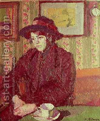 The Tea Cup 2 by Harold Gilman - Reproduction Oil Painting