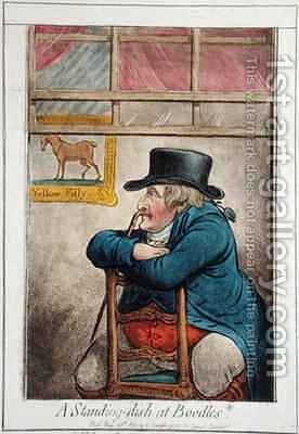 A Standing Dish at Boodles vide a d d good Cocoa Tree Pun by James Gillray - Reproduction Oil Painting