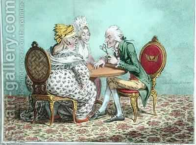 Push Pin by James Gillray - Reproduction Oil Painting